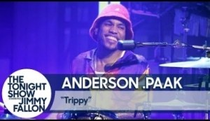 """Anderson .paak Performs """"trippy"""" Live On The Tonight Show"""